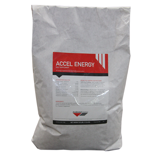 a bag of accel energy